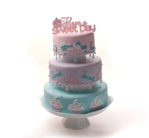 Have a Sweet Day Tiered Cake