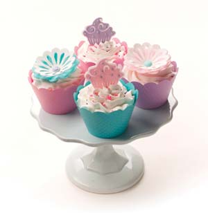 Whimsy Cupcake and Flower Cupcakes