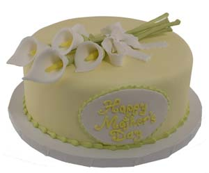 Mothers Day Calla Lily Cake