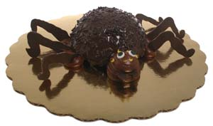 Spider with Legs Cupcake