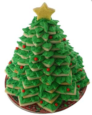 3D Cookie Christmas Tree