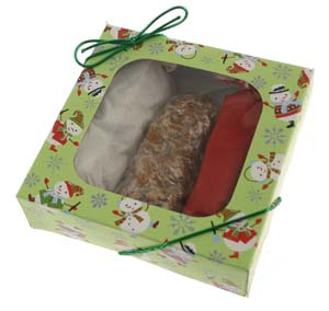 Holiday Pecan Logs