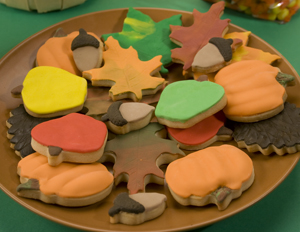 Fall Fondant Cookie Assortment