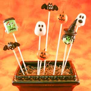 Scary Cake Pops