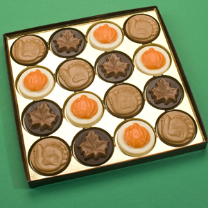Layered Thanksgiving Chocolates
