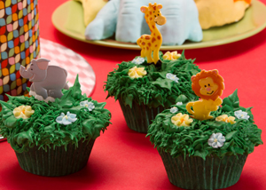 It's A Jungle Cupcakes