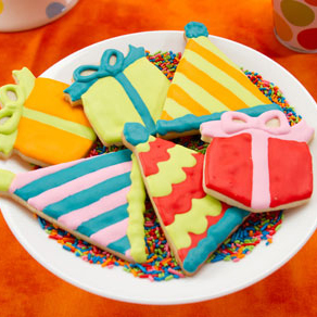 Birthday Party Hat Cookies
