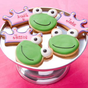 Frog Princess Cookies