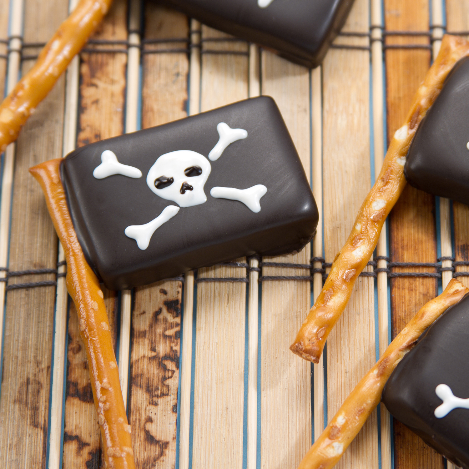 Pirate Caramel Flags