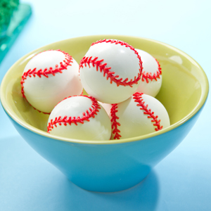 3D Chocolate Baseballs