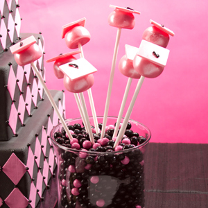 Graduation Key Cake Pops