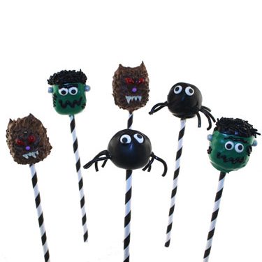 Scary Friends Cake Pops