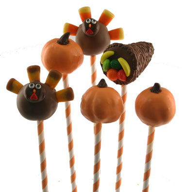 Turkey Day Cake Pops