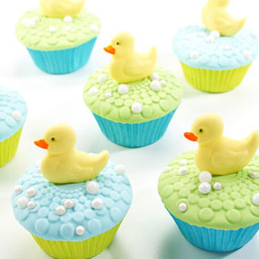 Baby Duck Cupcakes