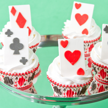 Playing Card Cupcakes