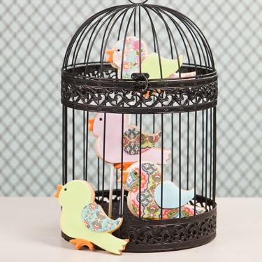 Birds In A Cage Cookies