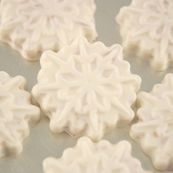Toasted Coconut Snowflakes