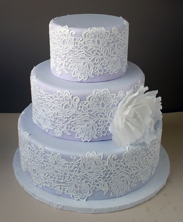 Lavendar and Lace Cake