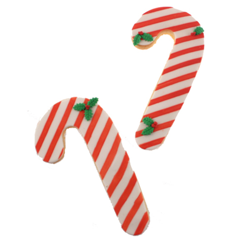 Candy Cane Cookie