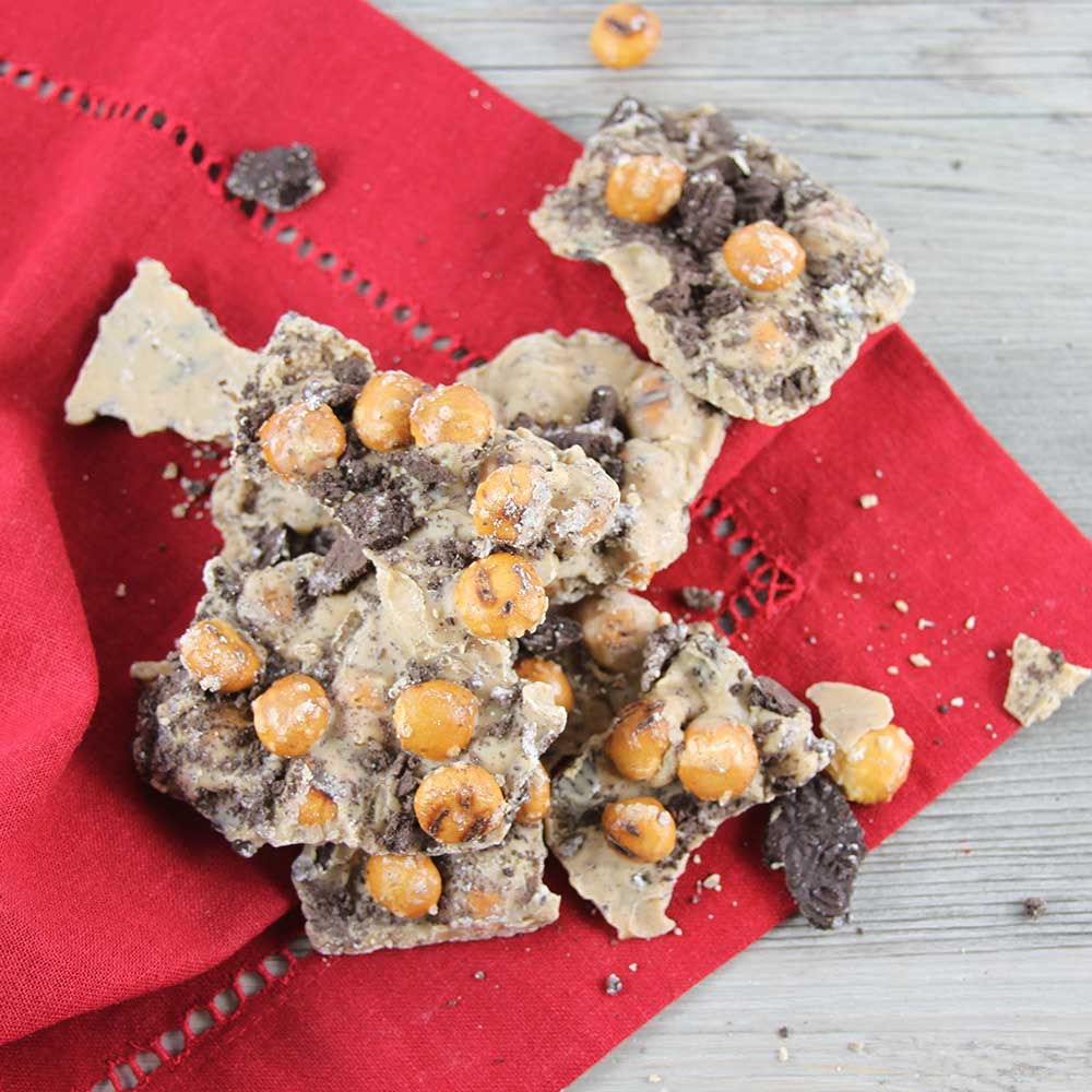 Peanut Butter Oreo Pretzel Bark Recipe