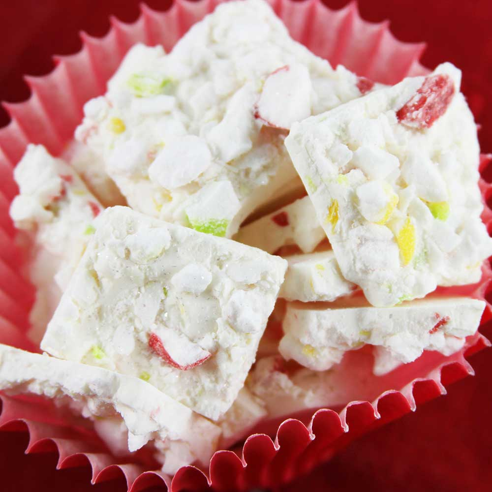 Lemon, Lime & Peppermint Puff Crush Bark Recipe