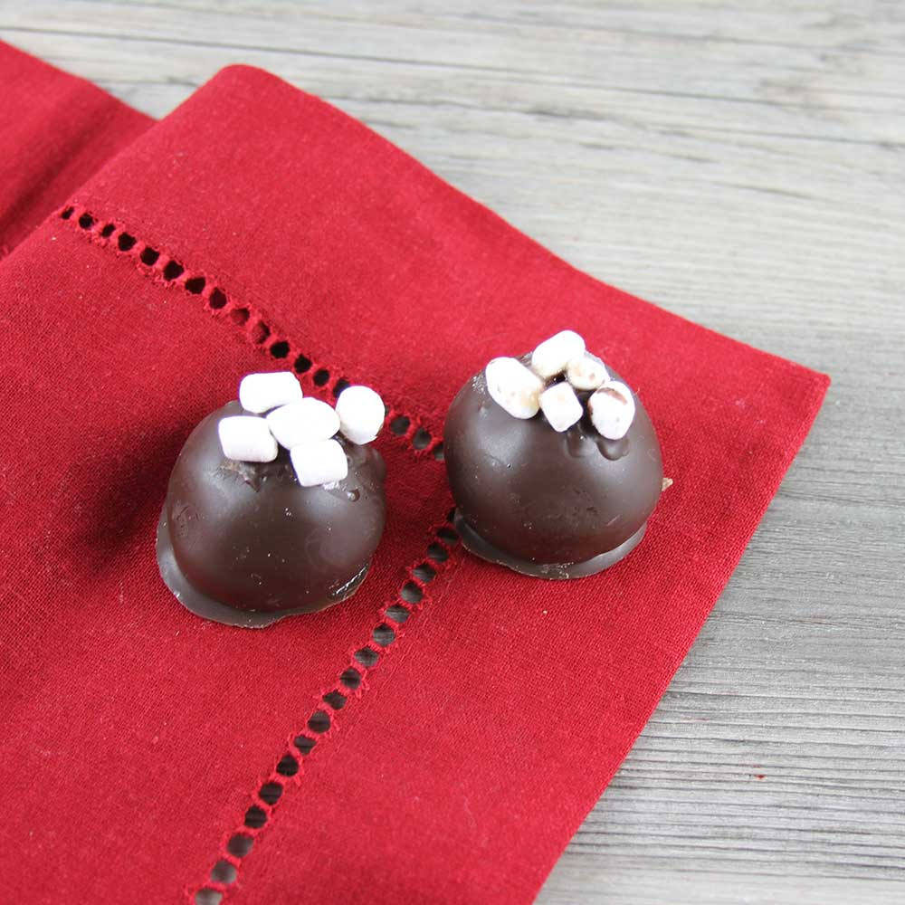 Hot Chocolate Cheesecake Bonbon Recipe