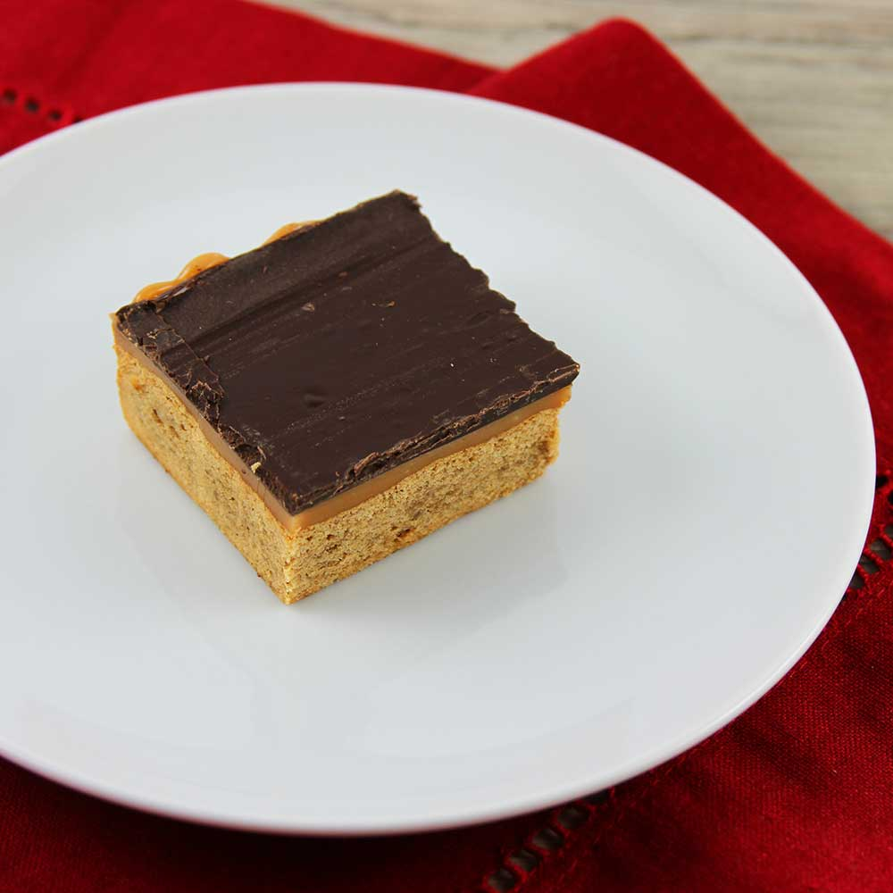 Gingerbread Millionaire Shortbread Bar Recipe