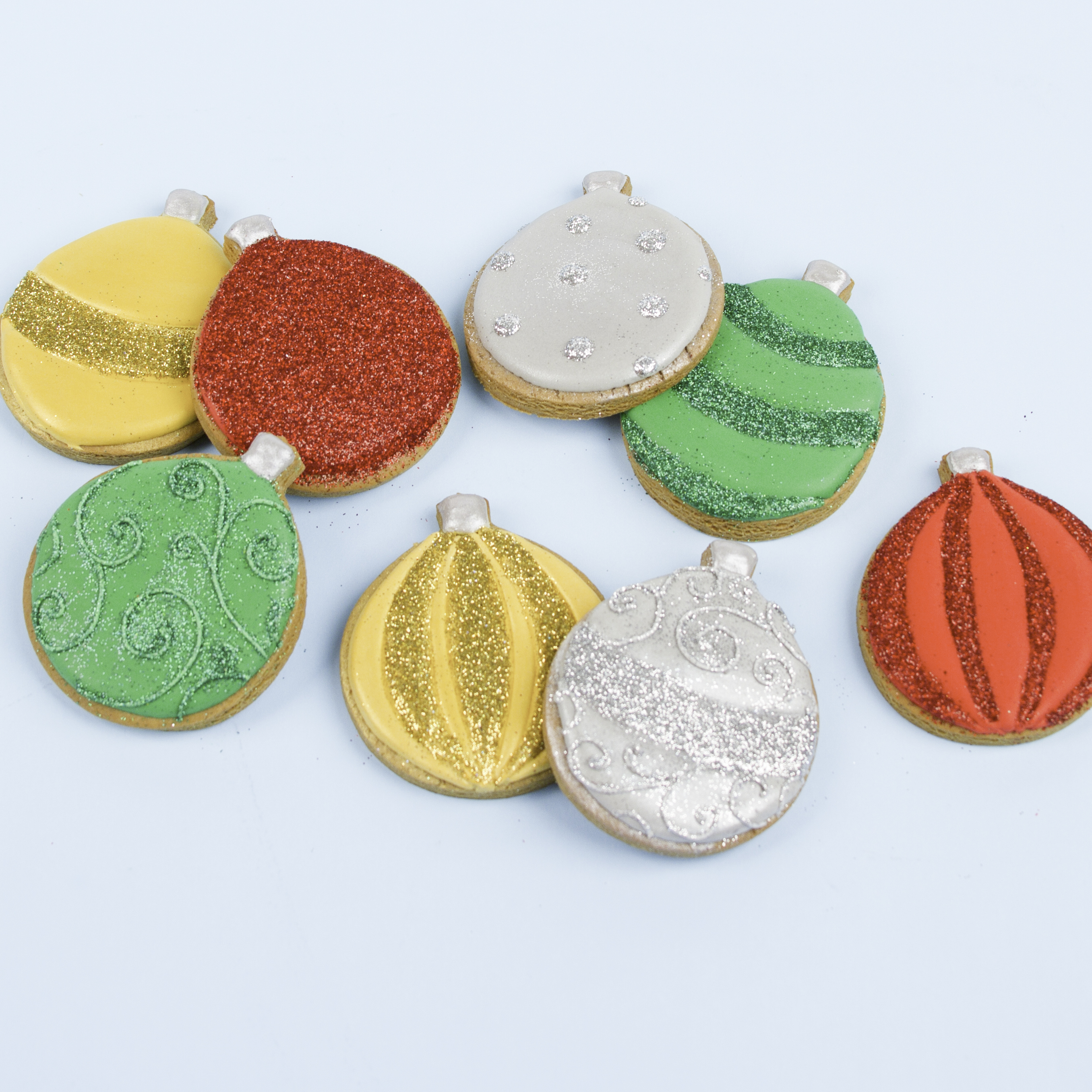 Ornament Royal Icing Sugar Cookies