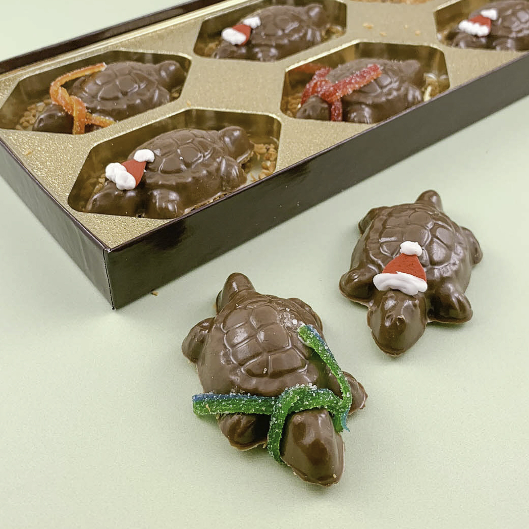 German Chocolate Turtles