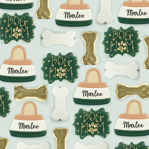 Dog Mom Cookie Set