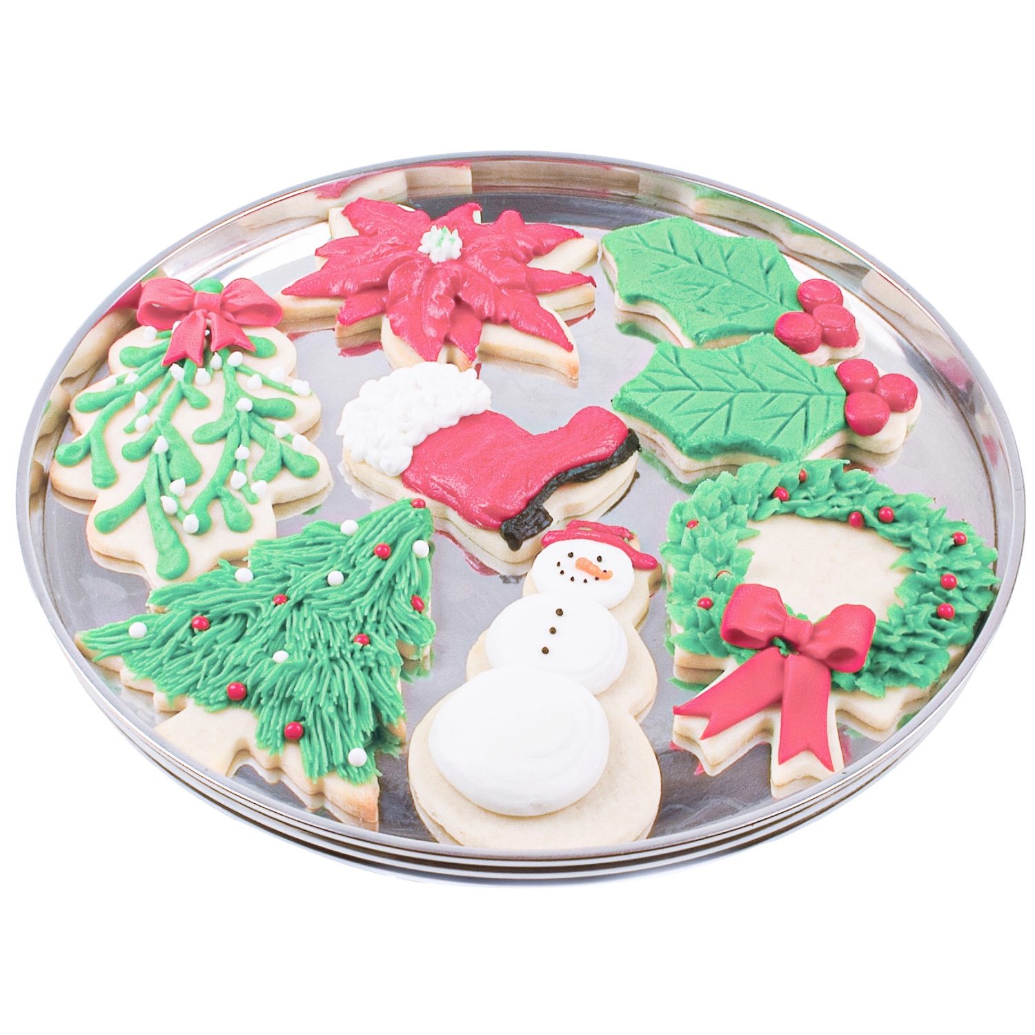 Buttercream Christmas Cut-Out Cookies