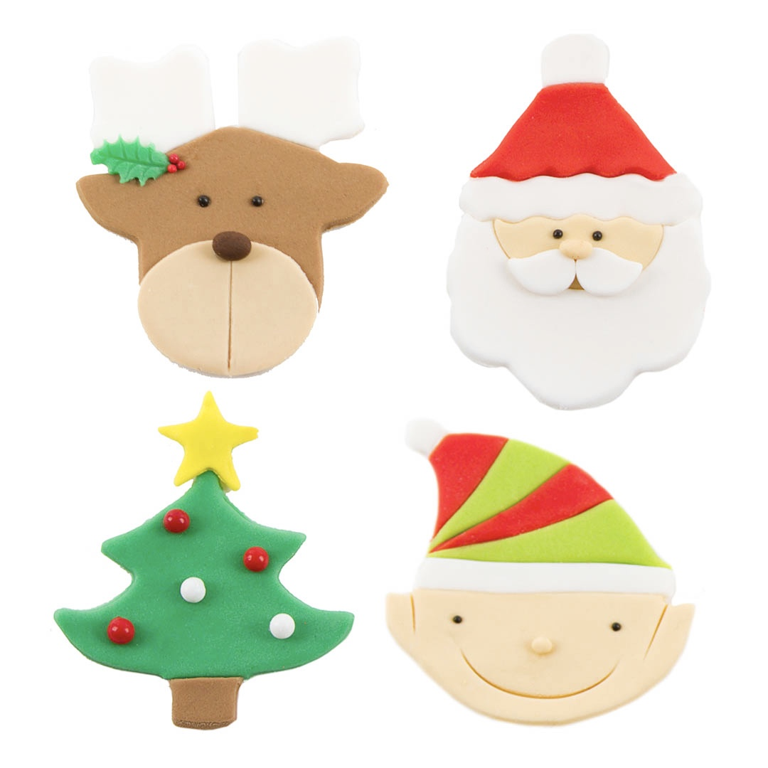 Christmas Cutie Cutter Toppers
