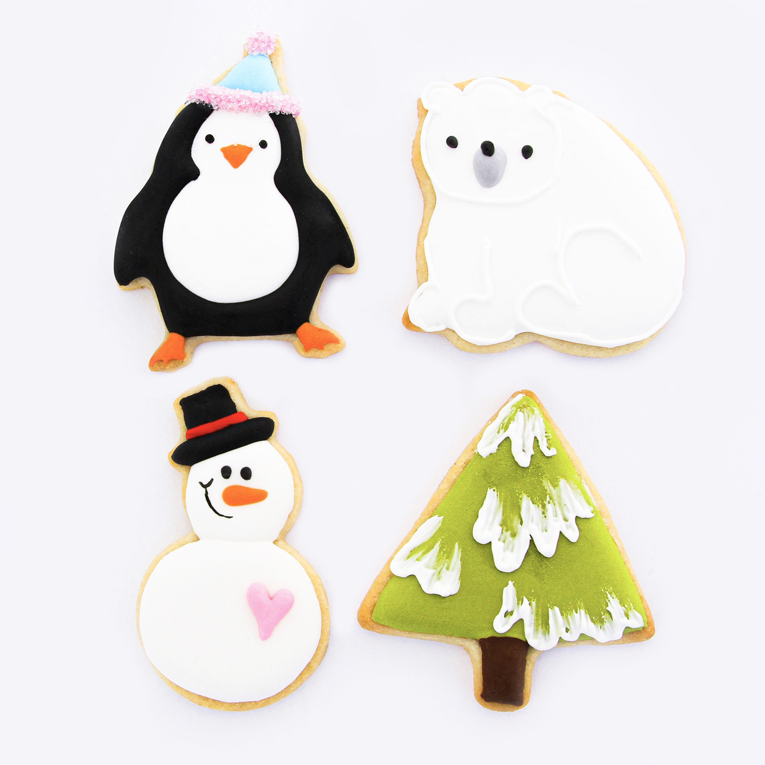 Winter Cutie Cutter Cookies