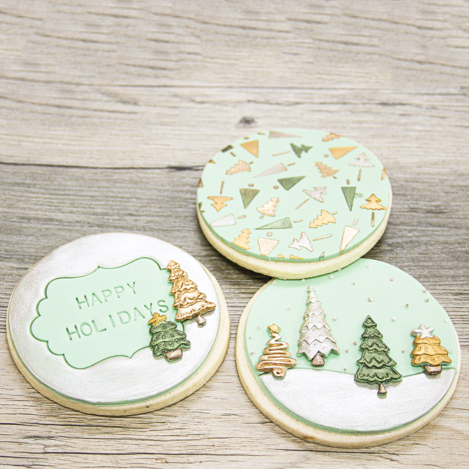 Happy Holidays Cookie Set