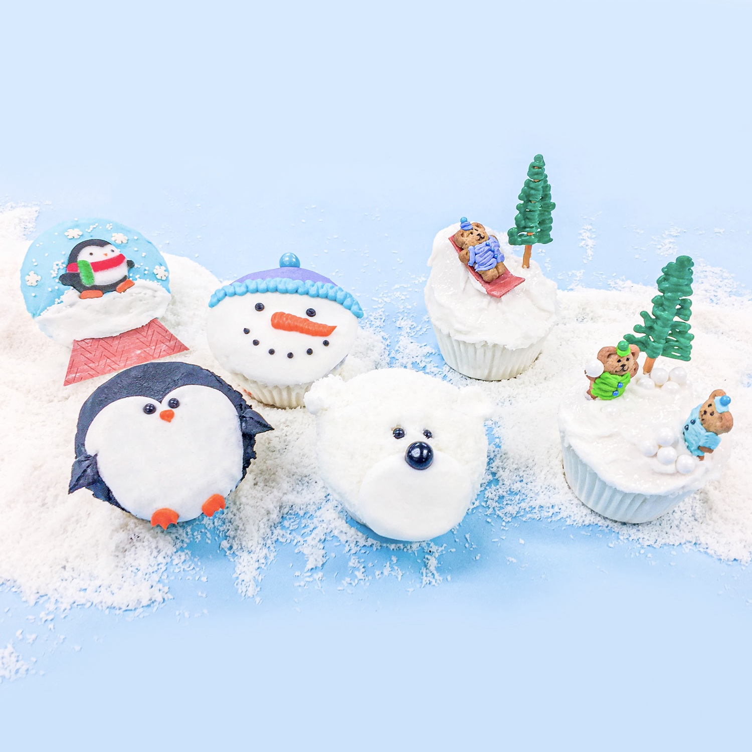 Winter Cupcake Collection