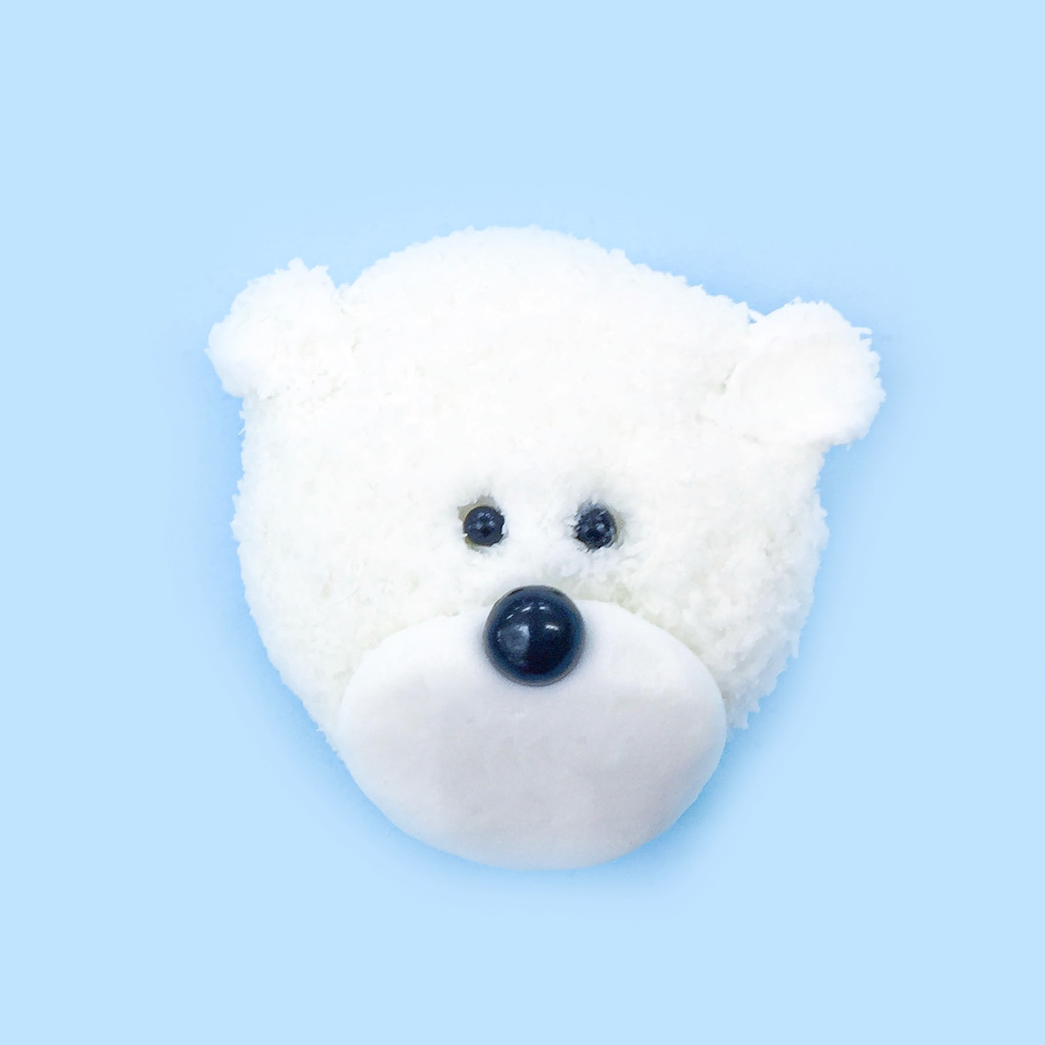 Winter Polar Bear Cupcake