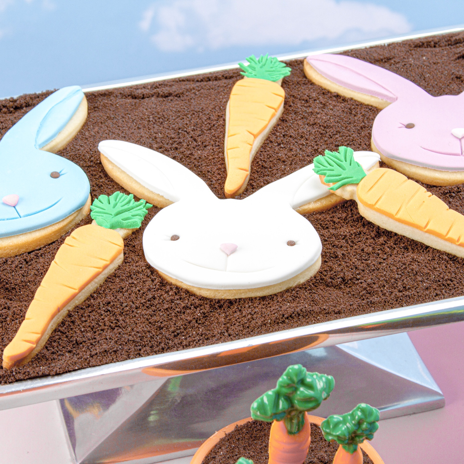 Bunny & Carrot Cookies