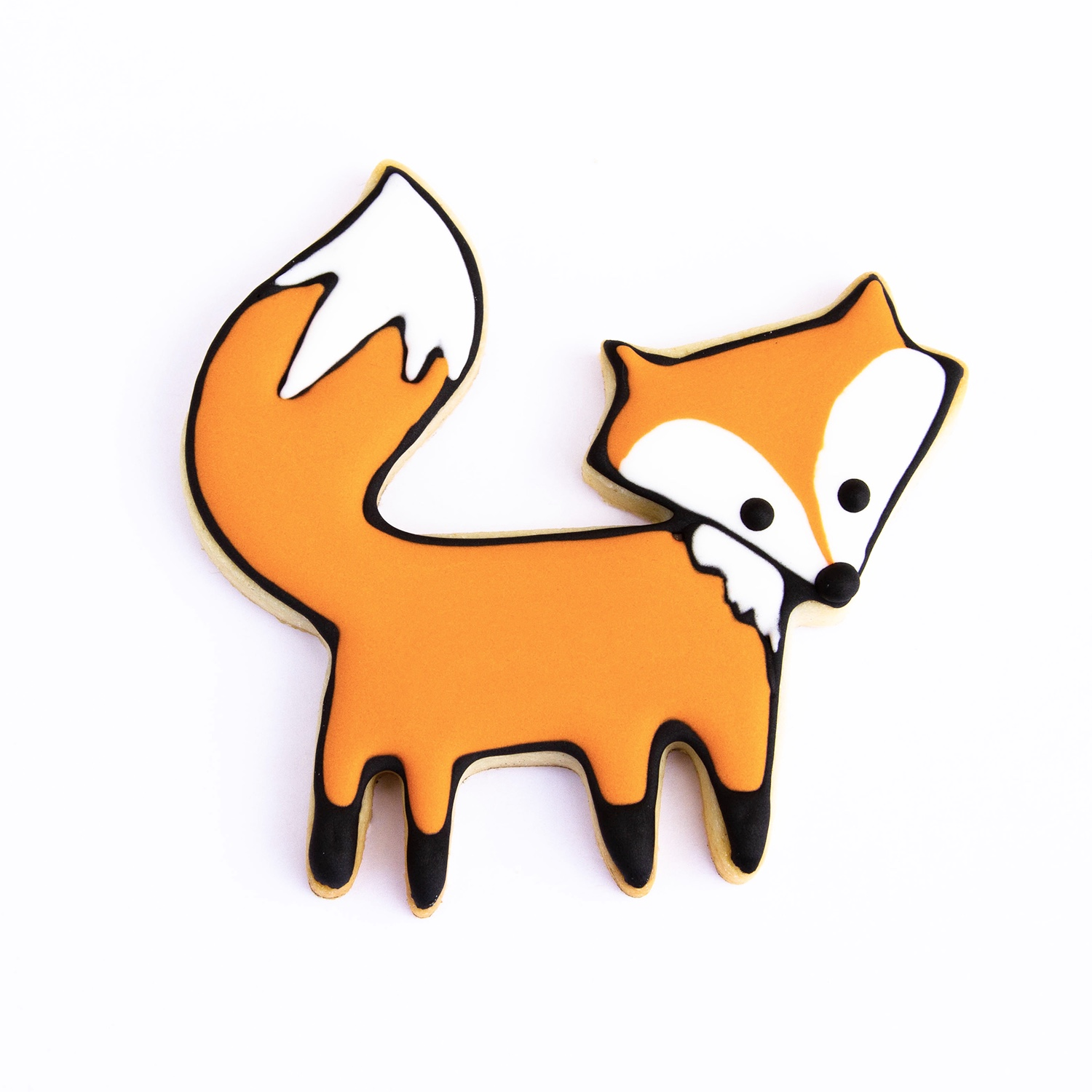 Cute Fox Cookie