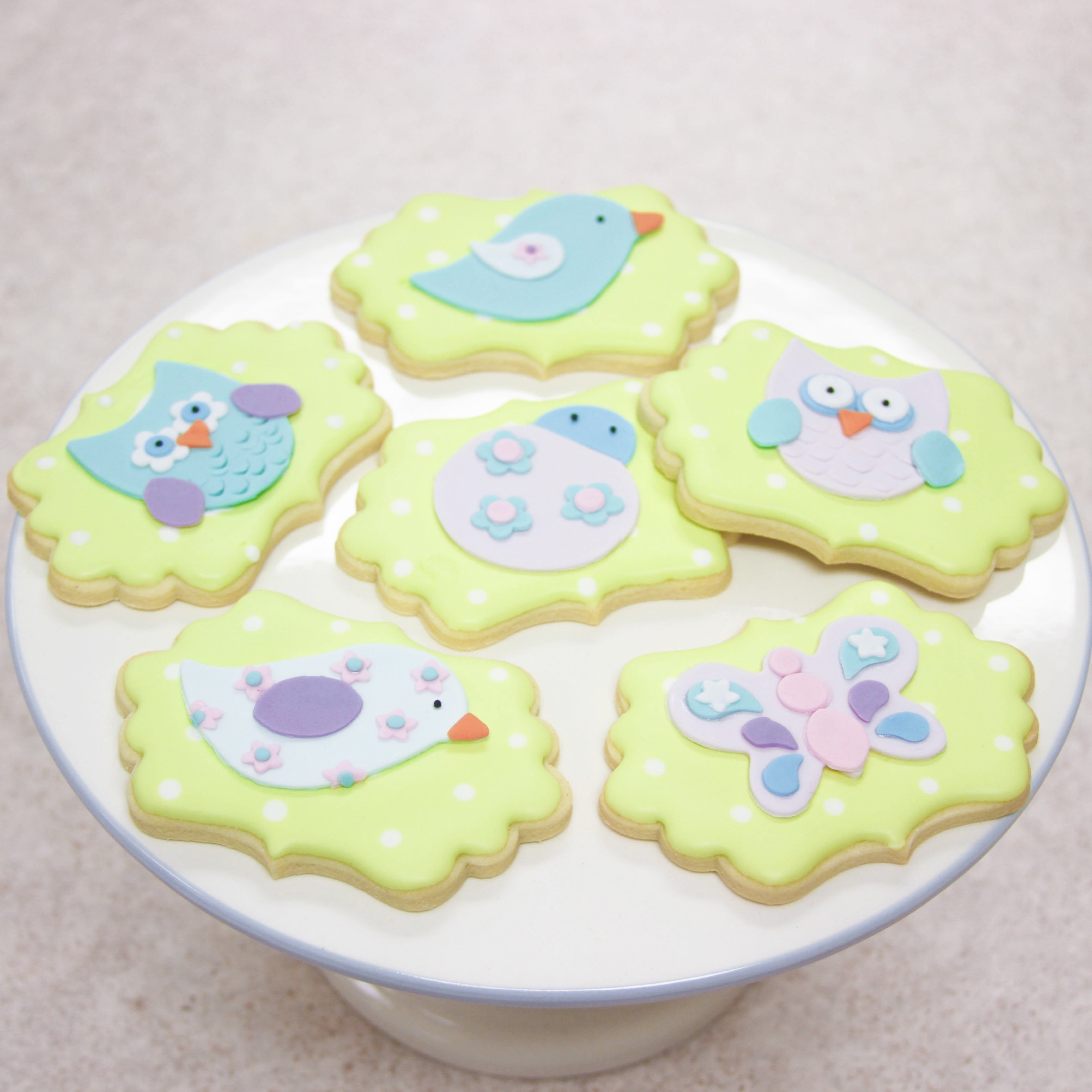 Cute Woodland Animal Cookies