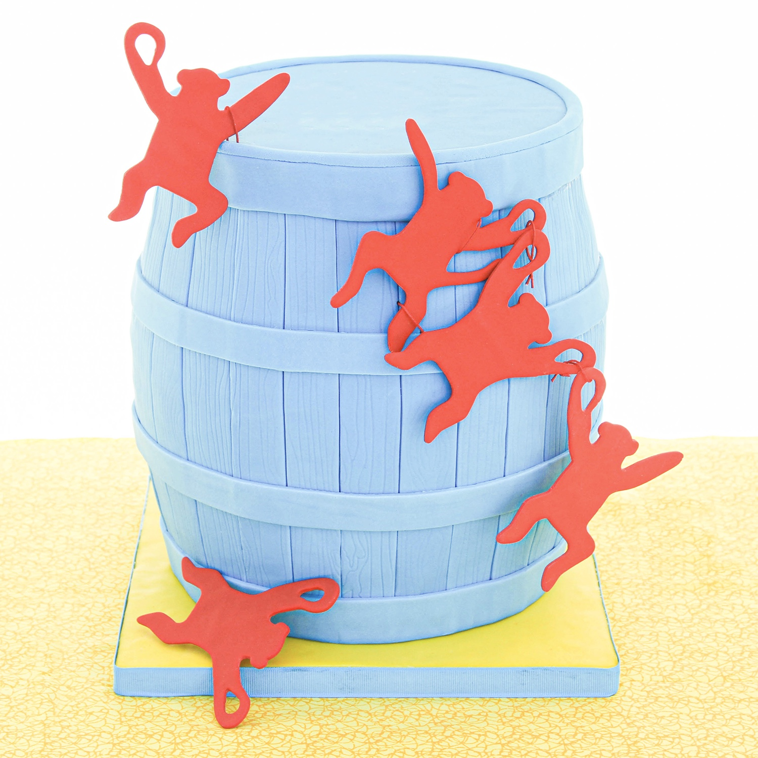 Barrel Monkey Cake