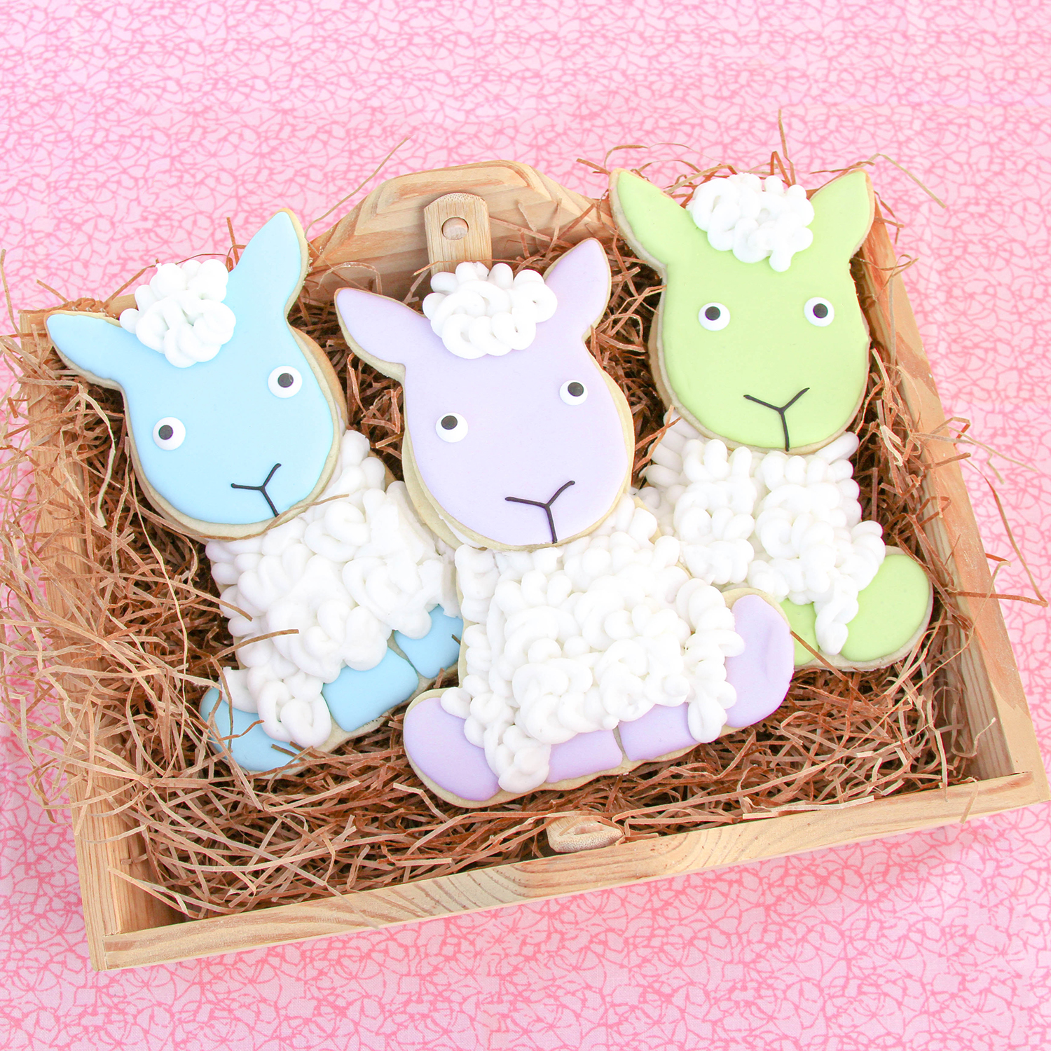 Cute Sheep Cookies