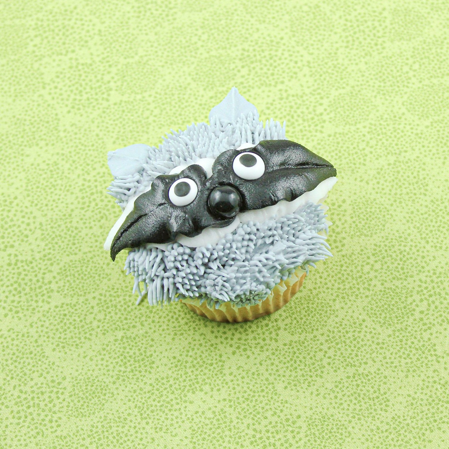 Raccoon Cupcake