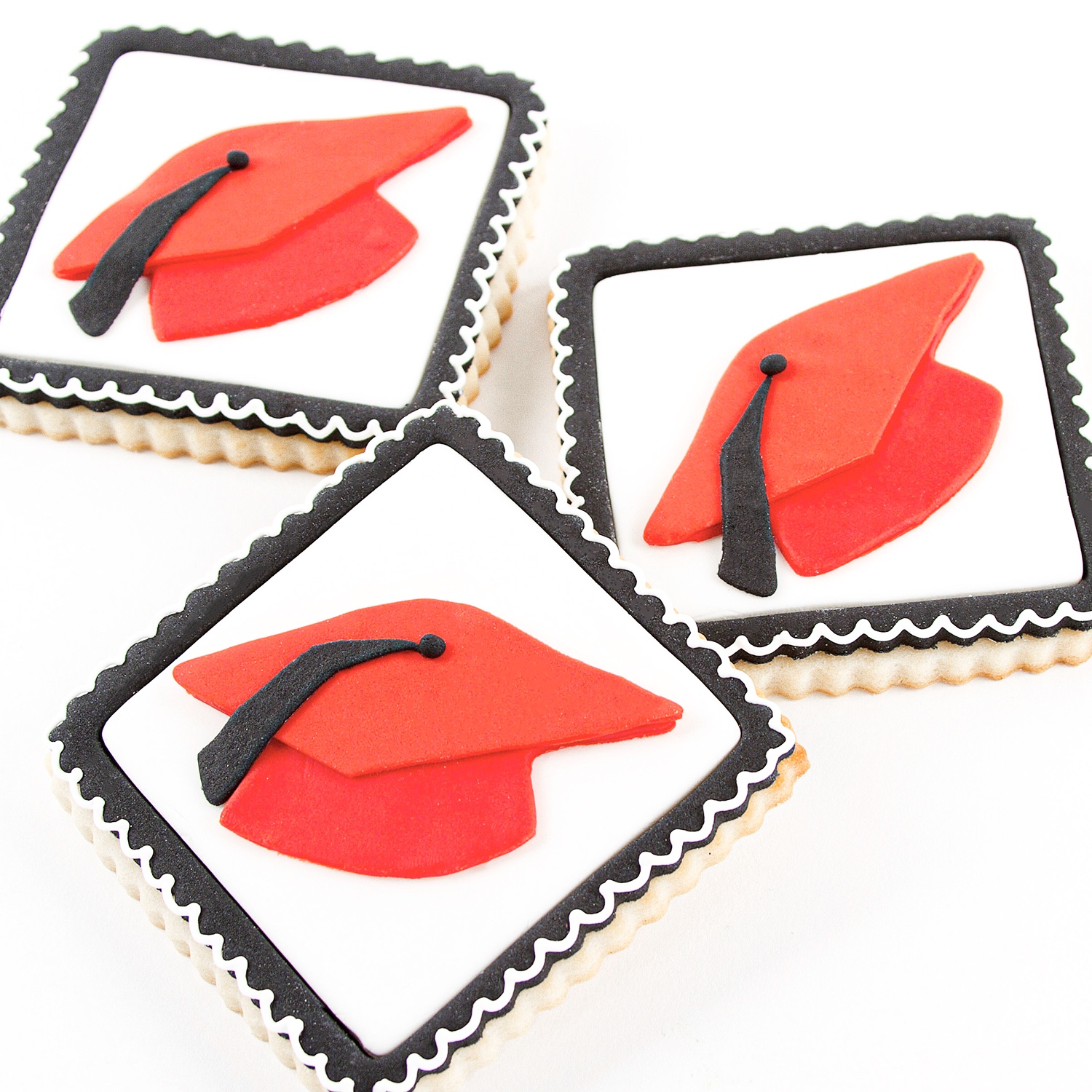 Graduation Cutie Cutter Cookies