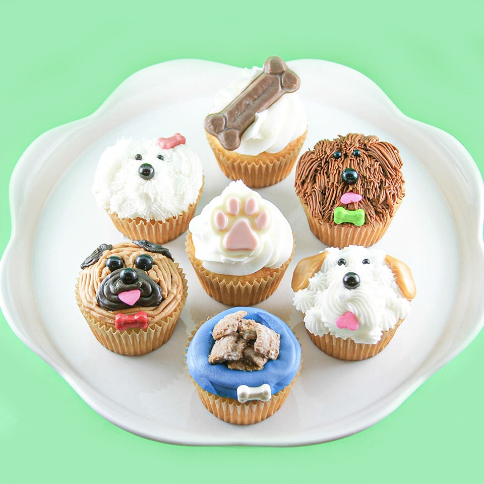 Dog Cupcake Collection