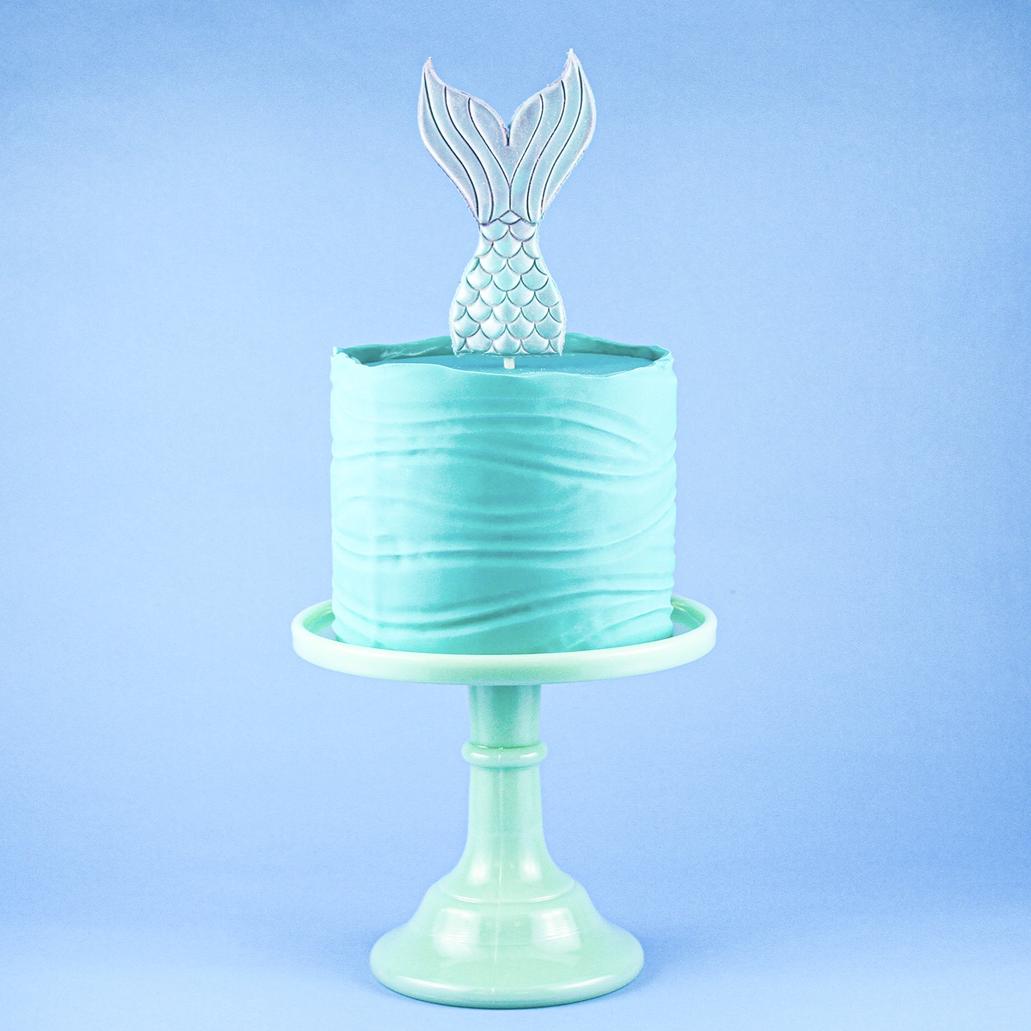 Mermaid Wave Cake
