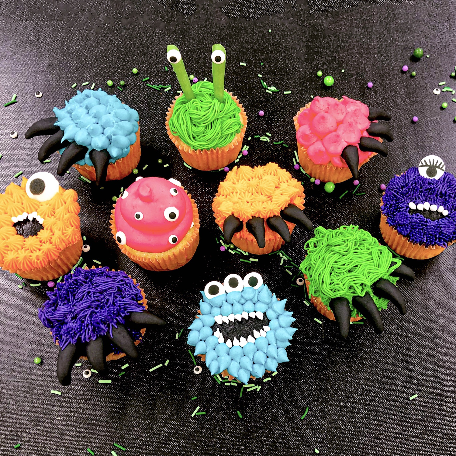Monster Cupcake Collection