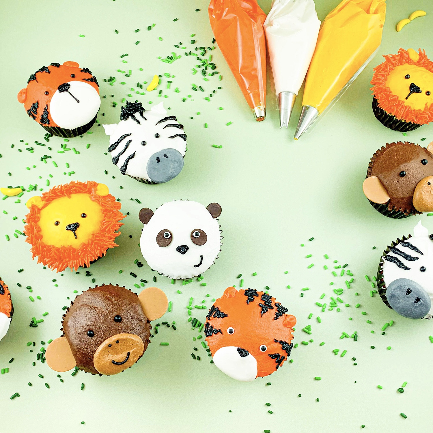 Safari Cupcake Collection