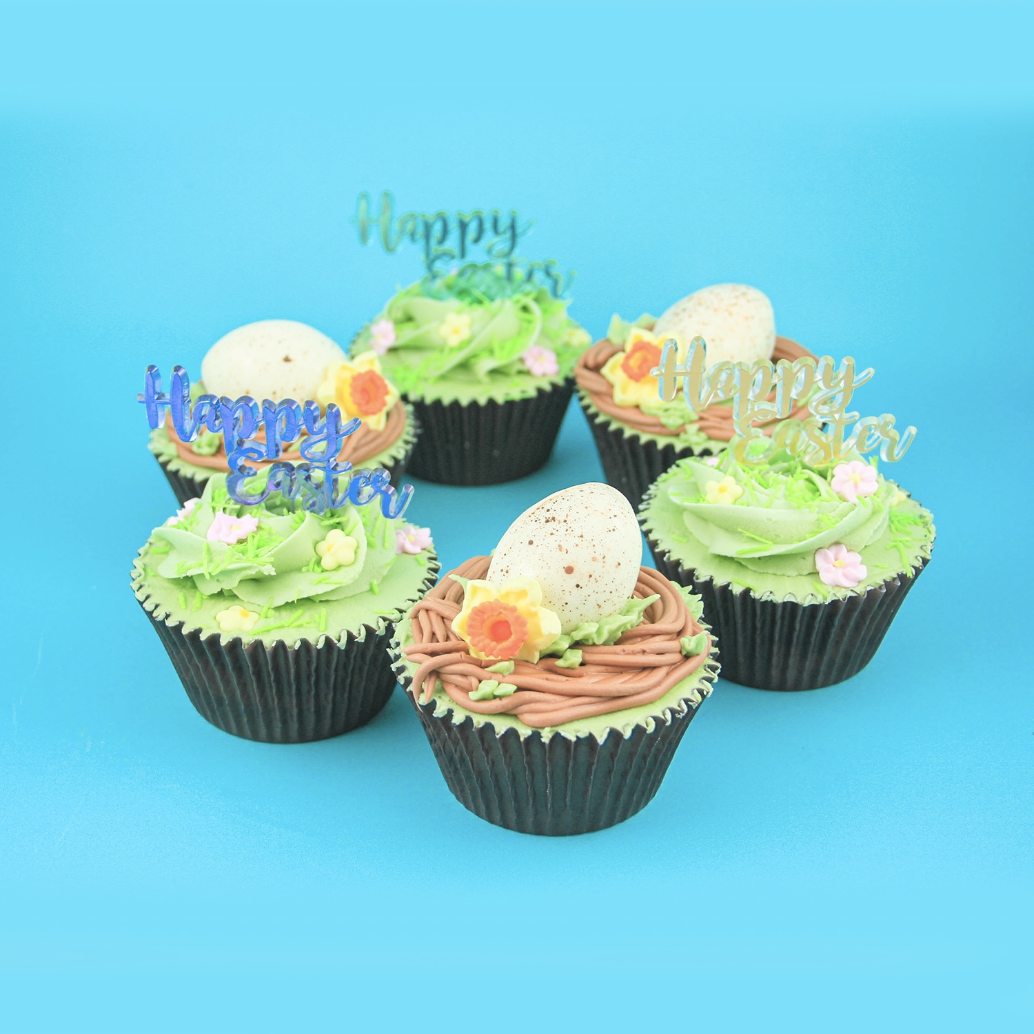 Happy Easter Cupcake Set