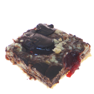 Chocolate Raspberry Crumb Bars