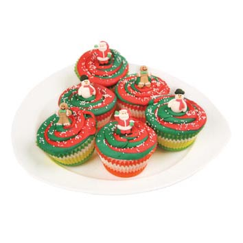 Christmas Friends Cupcakes